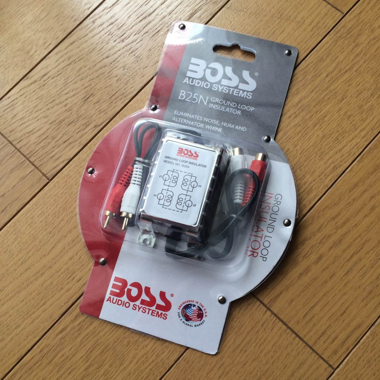 BOSS RCAノイズフィルター アイソレータ B25N AUDIO